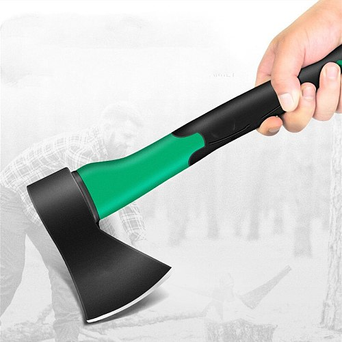 Carbon Steel Axe woodworkers adze Outdoor Hunting Camping Survival firefighter Carpenter tool Tree Cutter hatchet garden supplie