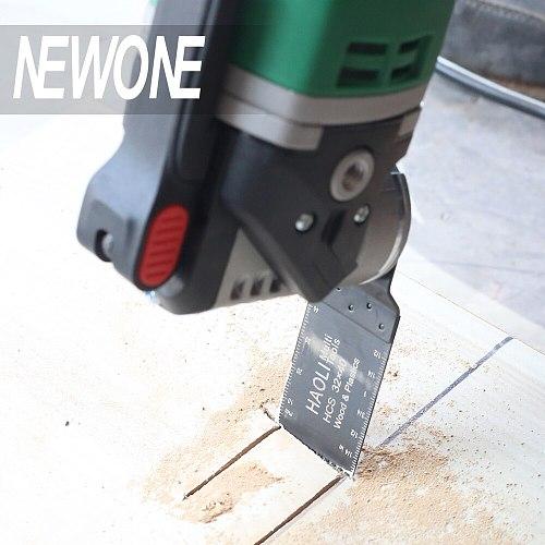 Basic Set NEWONE 350W Quick Release Electric Power Tool Variable Speed RotatingOscillating Multi-Tool Kit Multi Function