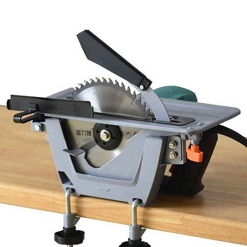 7 inch household portable woodworking saw electric circular saw flip electric table saw