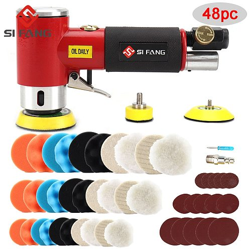 New Orbit Air Sander Mini Pneumatic  1 /2 /3   Grinding Machine set for Car Polishing High Speed Air Powered  Polisher air tool