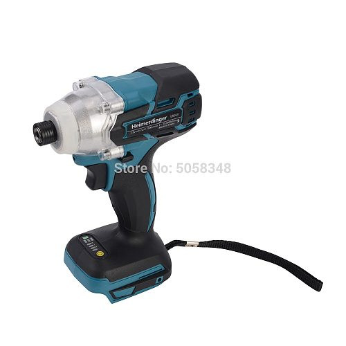 1/4  6.35mm Electric Rechargeable 18V brushless cordless impact driver 1/4  6.35mm 18V cordless impact driver body