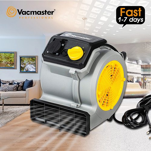 Vacmaster 125W 220V Air Blower Floor Dryer High Efficiency Electric Carpet Dryer Air Mover For Hotel Supermarket Home Cleaning