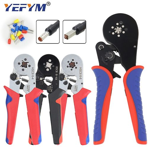 Ferrule Crimping Tool Kit - Sopoby Ferrule Crimper Plier 0.08-16mm2 /1200pcs Wire Ferrules Crimp Wire Ends Terminal