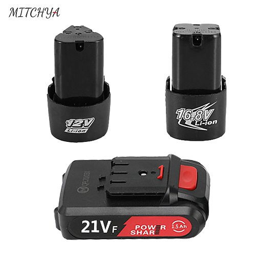 Cordless Screwdriver Battery 12V 16.8V 21V is suitable for Large capacity Electric Drill Battery