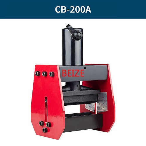 BEIZE CB-200A Hydrauilc Busbar Bender Copper Bending Tool for 12mm max of sheet, applicable for AL/ Cu sheet
