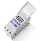 SINOTIMER Brand Electronic Weekly 7 Days Programmable Digital TIME SWITCH Relay Timer Control AC 220V 230V 16A Din Rail Mount
