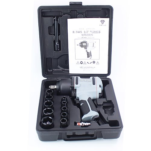 1/2  Pneumatic Wrench Spanner Key  Professional Air  Tools Auto  Repair Tools Wrench Kit 680-900N.M