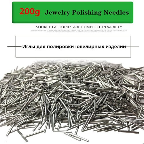 200g Magnetic polishing needle, Stainless Steel polishing pin, jewelry making cleaning engraving tool Jewelry Polisher tools