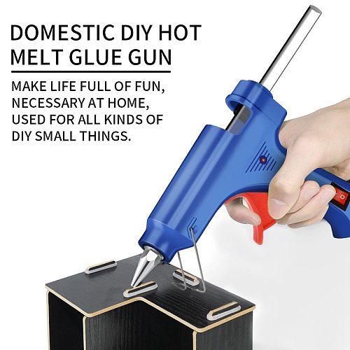 Hot Melt Glue Gun Industrial Mini Guns Thermo Electric Heat Temperature Tool Protable Repair Heat Tools EU Plug