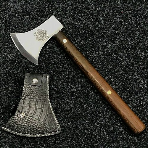 PEGASI Fire break tool jungle survival axe outdoor wood chopping block Longquan high manganese steel hand forged axe knife