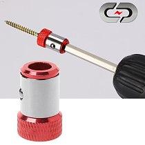 Screwdriver Bits Magnetic Ring 1/4  6.35mm Metal Strong Magnetizer Screw l29k