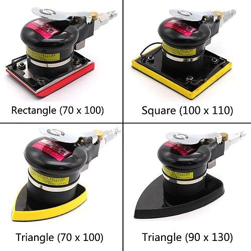 Pneumatic Air Sander Polisher Tool Vibrating Shock Polishing Machine for Car Paint Care Wood Grinder Polisher