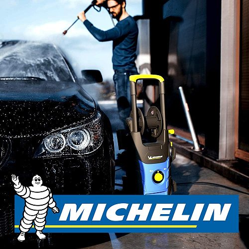 Michelin MPX19EHDS 1900Watt 140Bar Double Speed Professional Pressure Washer
