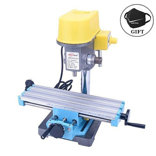 Mini Micro Bench Drill X Y-axis Adjustment Table Electric Drill Workbench Drill Vise Fixture Coordinate Table Milling Machine