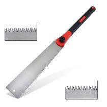 1PC SK5 Japanese Double-side Saws 3-edge Teeth Wood Cutter for Tenon Wood Bamboo Plastic Cutting Woodworking Tools