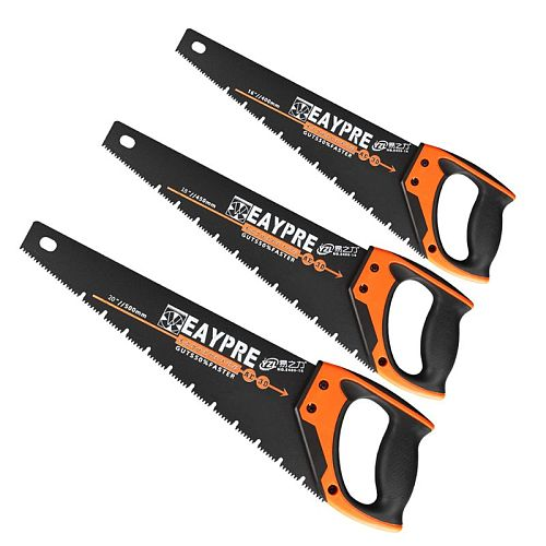 Universal Hand Saw Fast Cutting Wood Plastic Tube Trim Gardening Branch Woodworking Household 3 Sizes