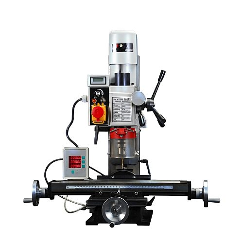 Small Drilling And Milling Integrated Machine Desktop Multi-function Drilling Machine Adjustable Speed Metal Processing 500W
