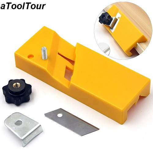 Gypsum Board Woodworking Planer Tool Flat Square Plane Drywall Edge Chamfer Hand Saw Box Hand Plasterboard Carpenter Tool