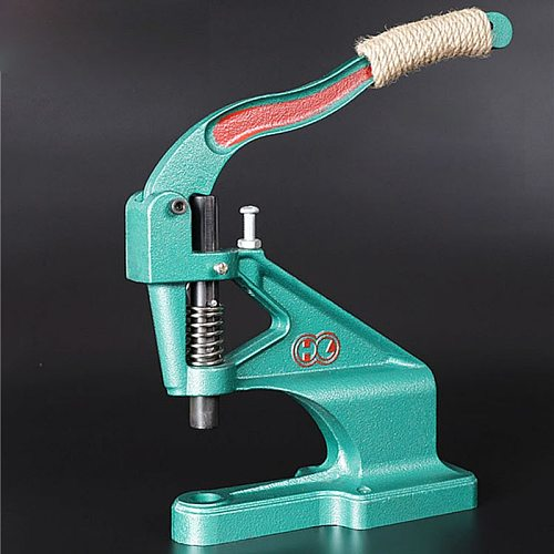 KAM Manual DK93 Hand Press Machine Grommet Eyelets Snap Button Molds Install Machine Hand Punch Tool T3/T5/T8 Molds