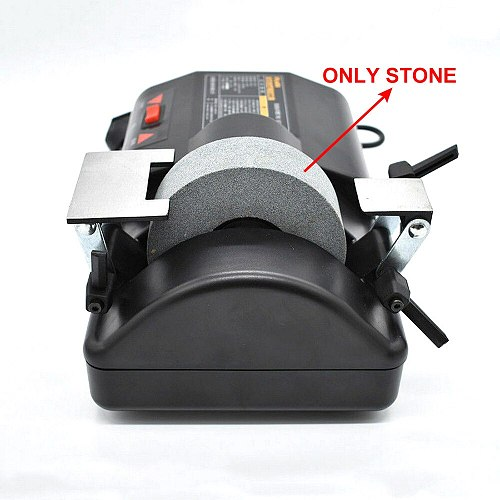 5-inch Electric Sharpener Stone Grinding Wheel for 120W 220V Water-cooled Low-speed Sharpener Knife Grinder Two Sharpening Holde