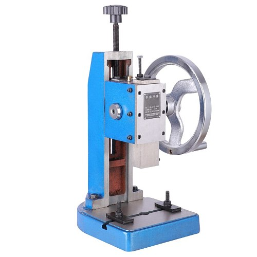 JA-2-1.5T hand plate punch/manual turntable press/desktop type press, industrial precision stroke can be positioned