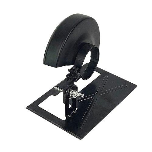 Adjustable Angle Grinder Holder Tool Cutting Machine Cutter Metal Bracket Base