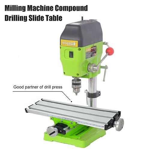 Worktable Working Cross Table Milling Machine Compound Drilling Slide Table For Bench Drill Vise drill milling machine stent