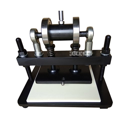 Manual Cutting Dies Pressure Cut Tool Metal Punching Die Machine Leather Indentation Machine 260*150mm PVC/EVA Sheet Mold Cutter