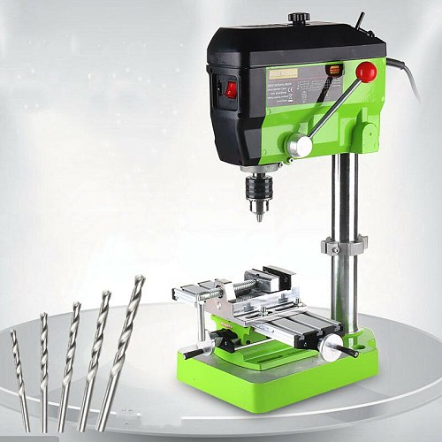 480W High speed Mini precision Bench Drill Drilling milling machine w/ Workbench