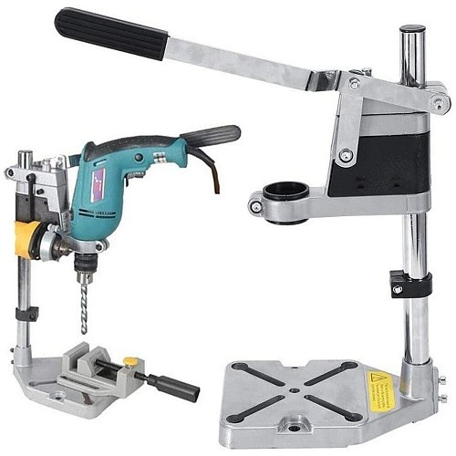 Multifunctional Drill Stand Bench Electric Drill Press Stand Holding Vise Bracket Rotary Tool Holder Power Tools Holding