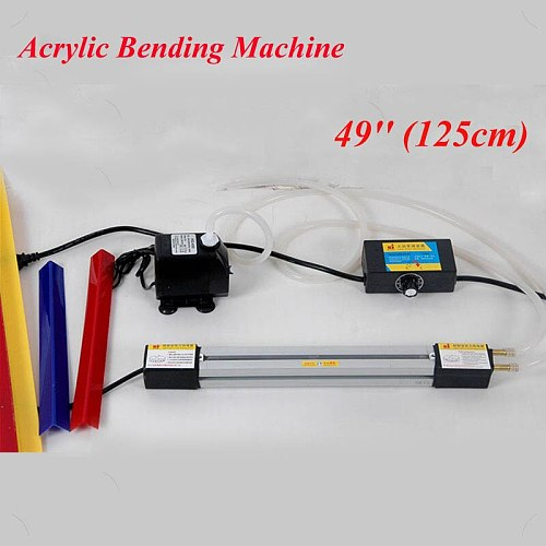 49 Inch Acrylic Bending Machine 125cm Plexiglass PVC Plastic Board Bending Device Advertising Signs and Light Box