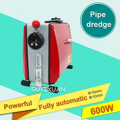 100D automatic electric pipe dredging machine sewer dredger toilet floor drain dredging cleaning machine