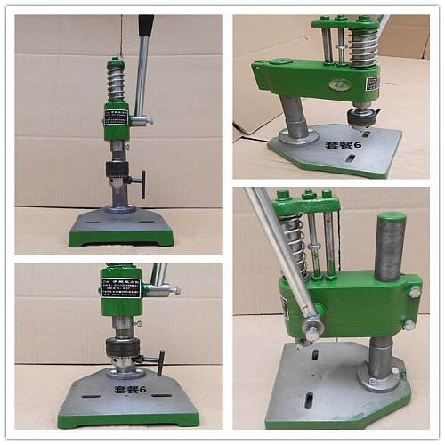 New 0.3 Ton Manual Punch Hand Presses Manual Punching Machine Manual Press ,Worktable 165*215mm ,Work trip 35mm ,Column 260mm