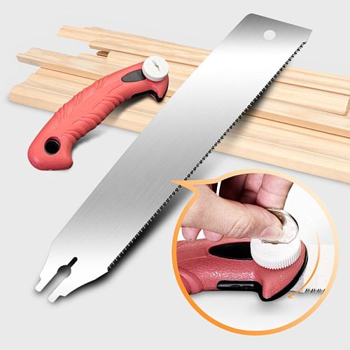 Saw Handle For Wood Working Double Sides Stainless Steel Hand Saw