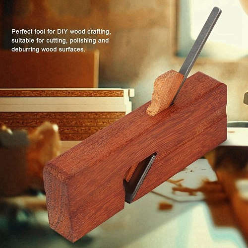 Promotion! Portable Wood Plane Mini Carpenter Grooving Trimming Planer Spoke Shave Adjustable Plane Manual Wrench Woodworking Ha