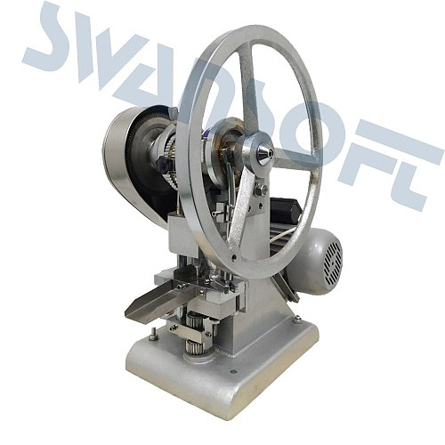 SWANSOFT  tdp 1.5 manual tablet pill making machine press equipment Tablet Press Pill Making Pressing Machine Maker candy press