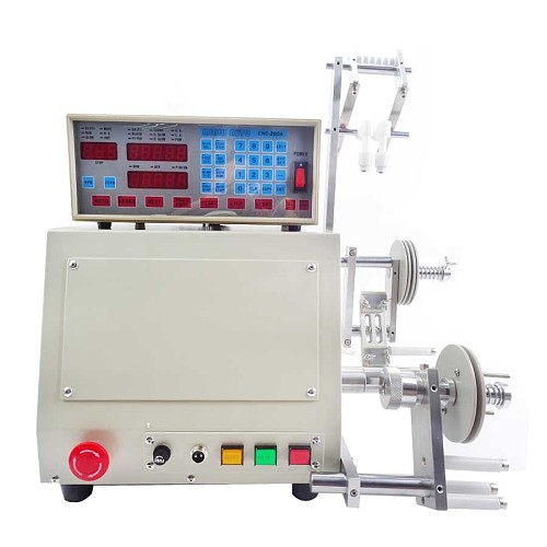 1PC High Quality New Computer CNC Automatic Coil Winder Coil Winding Machine For 0.03-1.2mm Wire 110/ 220V