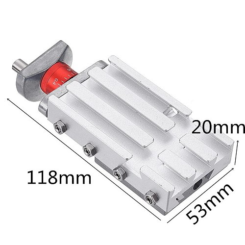 118mm Metal Cross Slide Longitudinal Slide Block Z008M For Mini Lathe Feeding Relieving Axis Y/Z Feed Release Axis