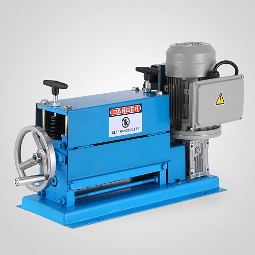220V Wire Stripping Machine Wire Peeling Cutting Machine Multihole Wire Stripper Electric Cable Wire Stripping Machine