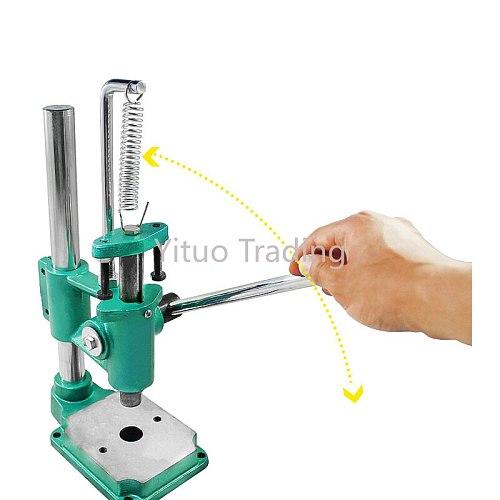 Industrial Desktop Mini Manual Punching Press Round Head Square Head Aluminum Small Professional Terminal Crimping Machine