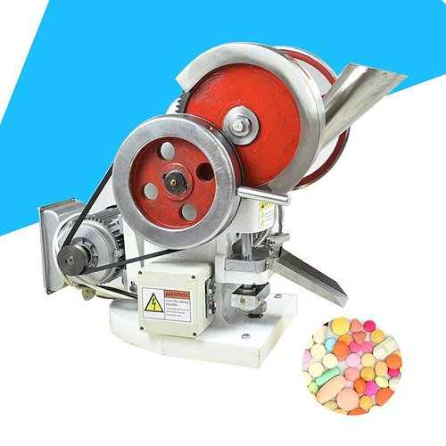 manual electric Dual use Single Punch Tablet Press Pill Making Pressing Machine Maker candy press machine pill