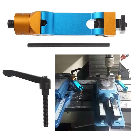 Universal Adjustable CNC Mill Machines Work Stop Locator Tool Part Workpiece New