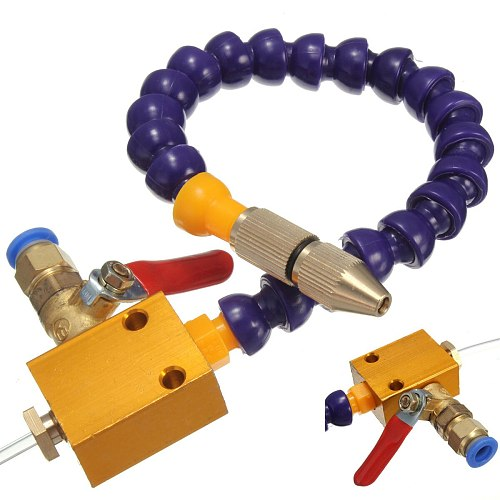8mm Air Pipe Mist Coolant Lubrication Spray System CNC Lathe Milling Drill Engraving Machine Tool for Cooling