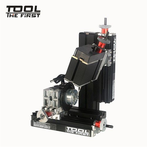 Thefirsttool TZ10002MS Big Power Mini Meta Six-Shafts Drilling and Milling Machine 12000r/min 60W Motor Children DIY Best Gift