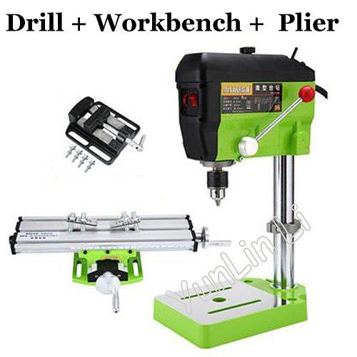220V Quality Mini Electric Drill 5168E DIY Variable Speed Micro Drill Press Machine 680W Bench Electric Drilling Machine
