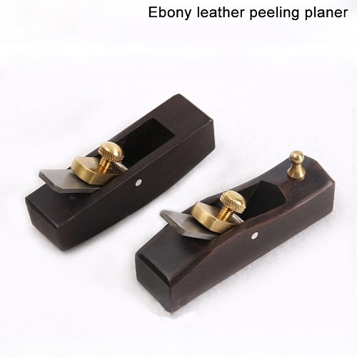 Sandalwood Flat/ Sole Leather Skiver Skiving Plane Knife Leather Craft Cutter Tool Plane Cutter DIY Craft Cutter Tool
