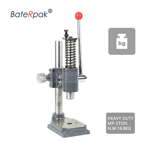 MP-2 Manual press,BateRpak HIGH quality strong heavy duty desktop manual press machine, small punch machine,hand stamping machie