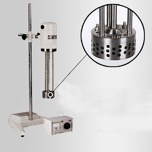 Cosmetics Emulsifying Mixer Solid Liquid Powder Homogenizer 220V High Speed Shearing Machine