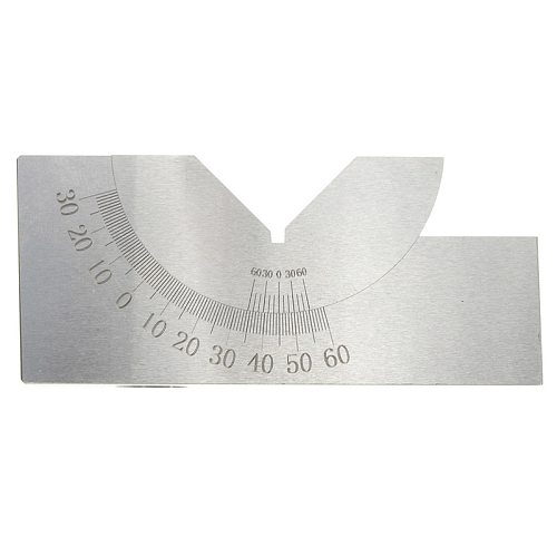 HLZS-75x25x32mm Precision Mini Adjustable Angle V Block Milling 0 Degree To 60 Degree