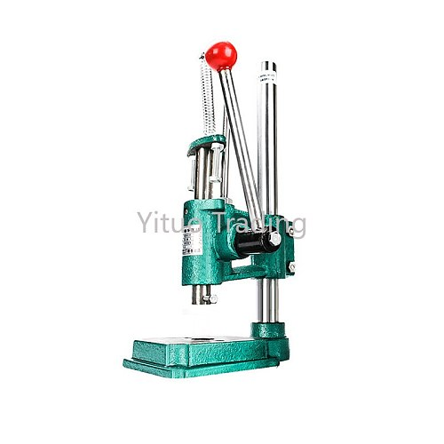 Industrial Desktop Mini Manual Punching Press Round Head Square Head Aluminum Small Professional Terminal Crimping Machine